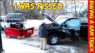Ram Trucks made me mad - It was the Worst Truck Buying experience I