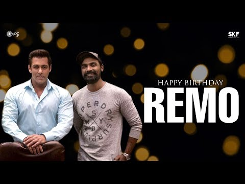 Happy Birthday Remo from the Race 3 family