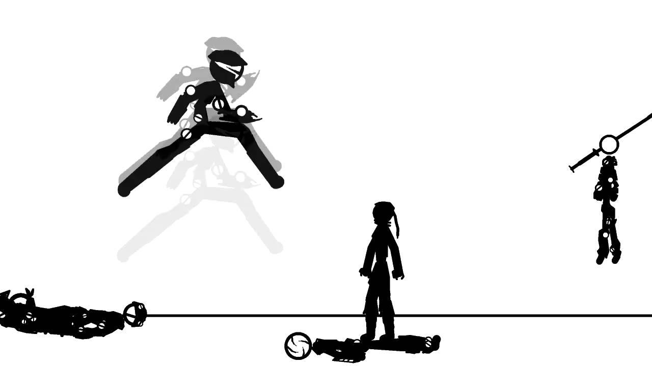 Stick figures vs ninja old youtube