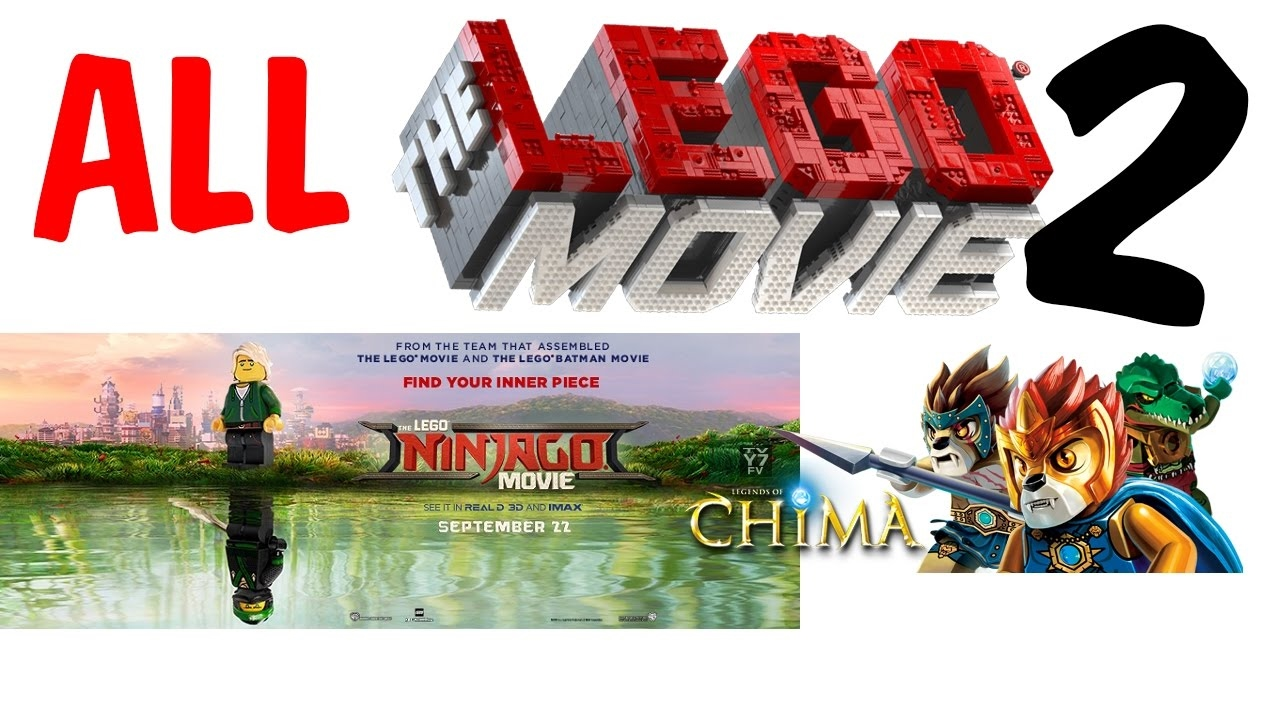 ALL Lego Movies,TV Specials and Films vs Animation (2003 - 2019)