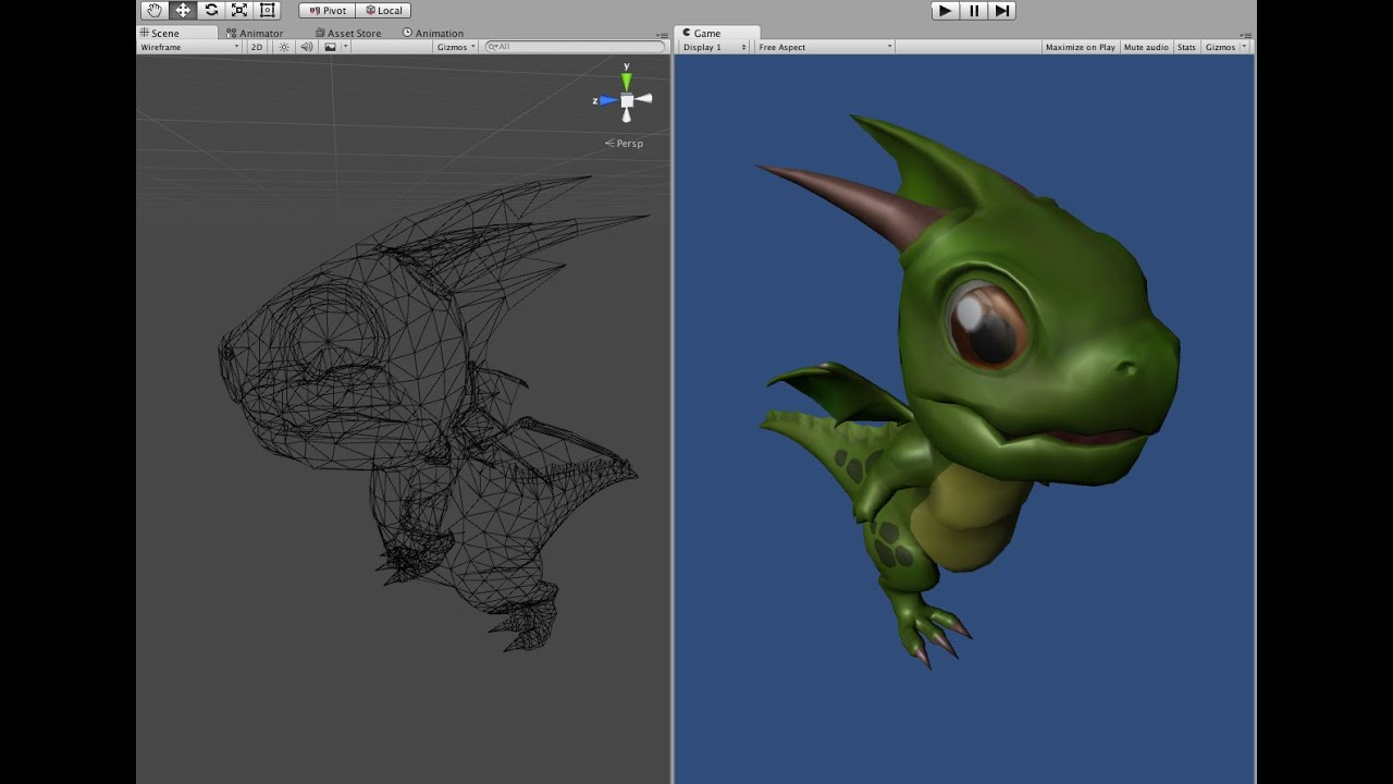 Importing an FBX Model and Animations into Mecanim