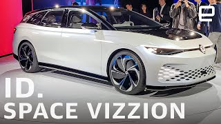 VW ID. Space Vizzion: An electric road-tripping wagon