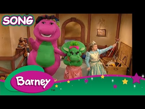 Barney  The Clean Up Song SONG
