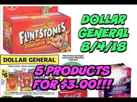 DOLLAR GENERAL SCENARIO 8 4 18