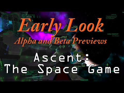 Early look at Ascent: The Space Game