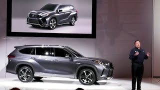 See Toyota's BIG REVEAL presser at the Chicago Auto Show 2020
