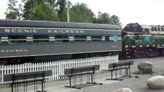 Adirondack Scenic Railway Part 2 ( thank you Subscribers)
