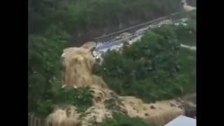 Banjir bandang yang terjadi hari jum'at tanggal 2 juni 2017,di Taipe Taiwan