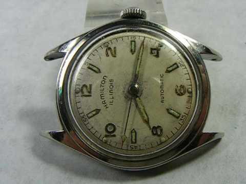 Vintage Hamilton Illinois Wrist Watch