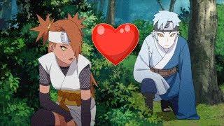 MITSUKI ET CHOCHO EN COUPLE !? BORUTO