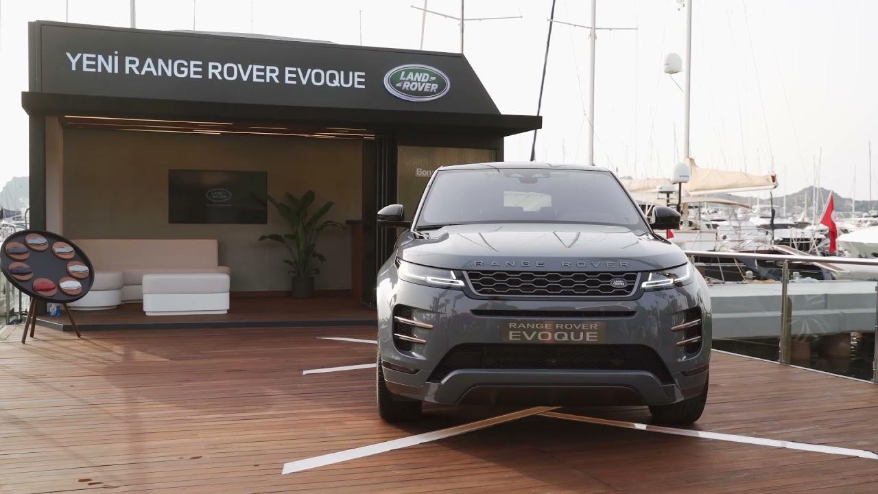Range Rover Evoque Yalıkavak Marina Bodrum'da | Land Rover Türkiye