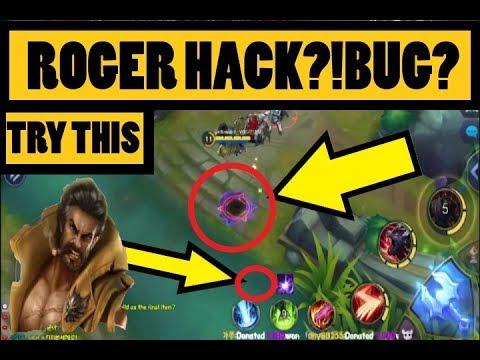 Mobile Legends Roger Bug Hack Wtf 모바일레전드 로저 버그영상 Youtube