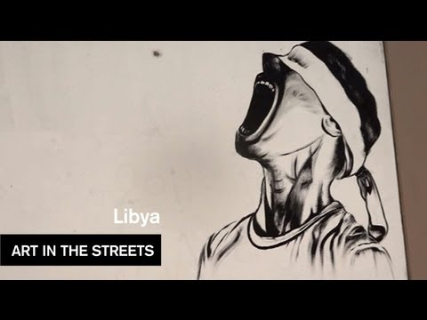 Global Street Art - Libya - Art In The Streets - MOCAtv