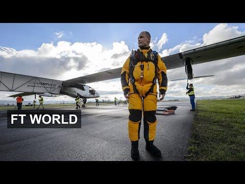Solar plane revolution I FT World