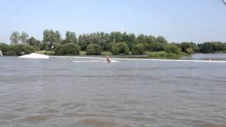 Wakeboard assis - TSN 44 - Téléski nautique à Nantes - Loire Atlantique
