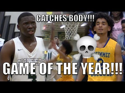 BEST DUNK OF THE YEAR?! Niven Glover Catches BODY in Oak Ridge Regional Finals! OR vs Osceola
