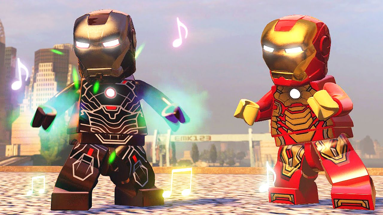 how to make iron man fly in lego marvel