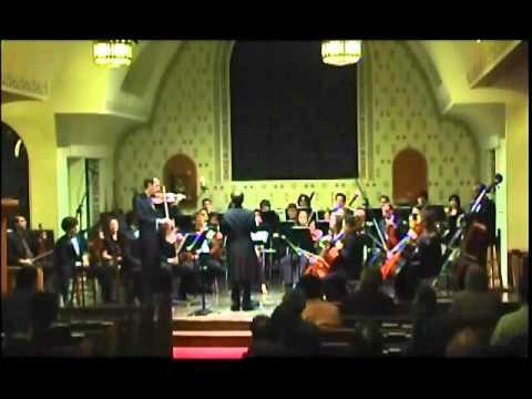 Goldmark Violin Concerto, Op. 28 - 1st mvt. Allegro moderato, Part 2