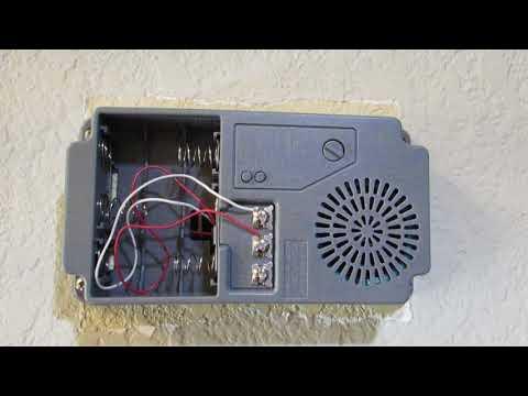 Hampton Bay Door Bell Wired Or Wireless Demo Review