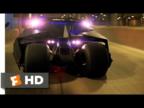 Tumbler Chase Scene - Batman Begins Movie (2005) -...