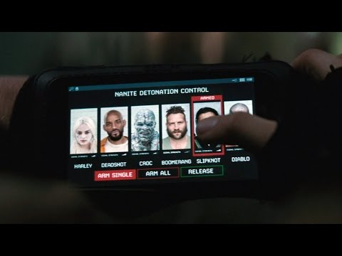 Slipknot trying escape   Suicide Squad   Extended Cut