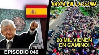 Madre de Toda Caravanas Amenaza Frontera Norte - Pedido de perdón de AMLO a España por la Conquista
