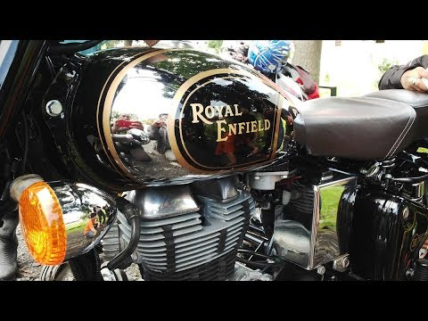 MOTOR CLASSIC INGGRIS ROYAL ENFIELD VS  TRIUMPH