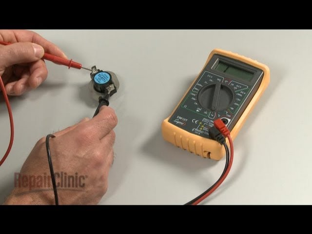 dryer repair help how to fix a dryer repairclinic com dryer cycling thermostat dryer high limit thermostat