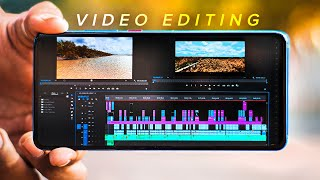 Top 5 Professional VIDEO EDITING Apps For Android!
