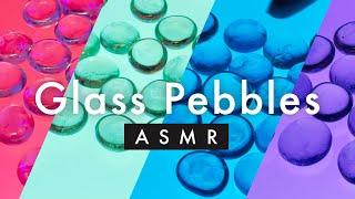 Glass Pebble ASMR Sounds For Sleep Tingles   Gentle Glass Sounds No Talking