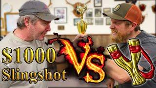 $1000 Slingshot Vs Tree Fork Slingshot /2019 East Coast Slingshot Tournament