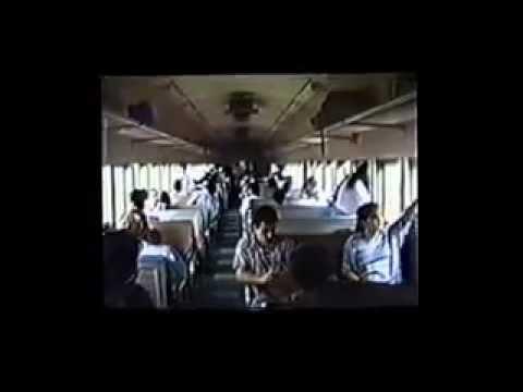 Litorina EFSJ entre Campinas á Santos 1991