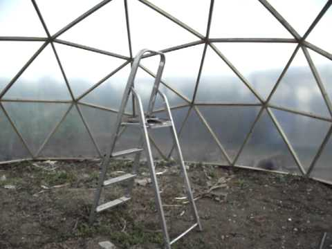 BioDome Systems: The Aquaponic Chronicle- A Geodesic Dome Journey pt 5 Inside the dome