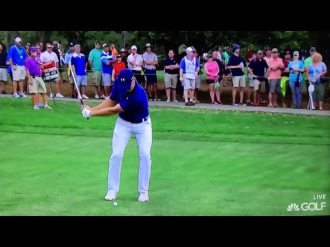 Jordan Spieth - 85 Yard Wedge 12,000 fps (2016)