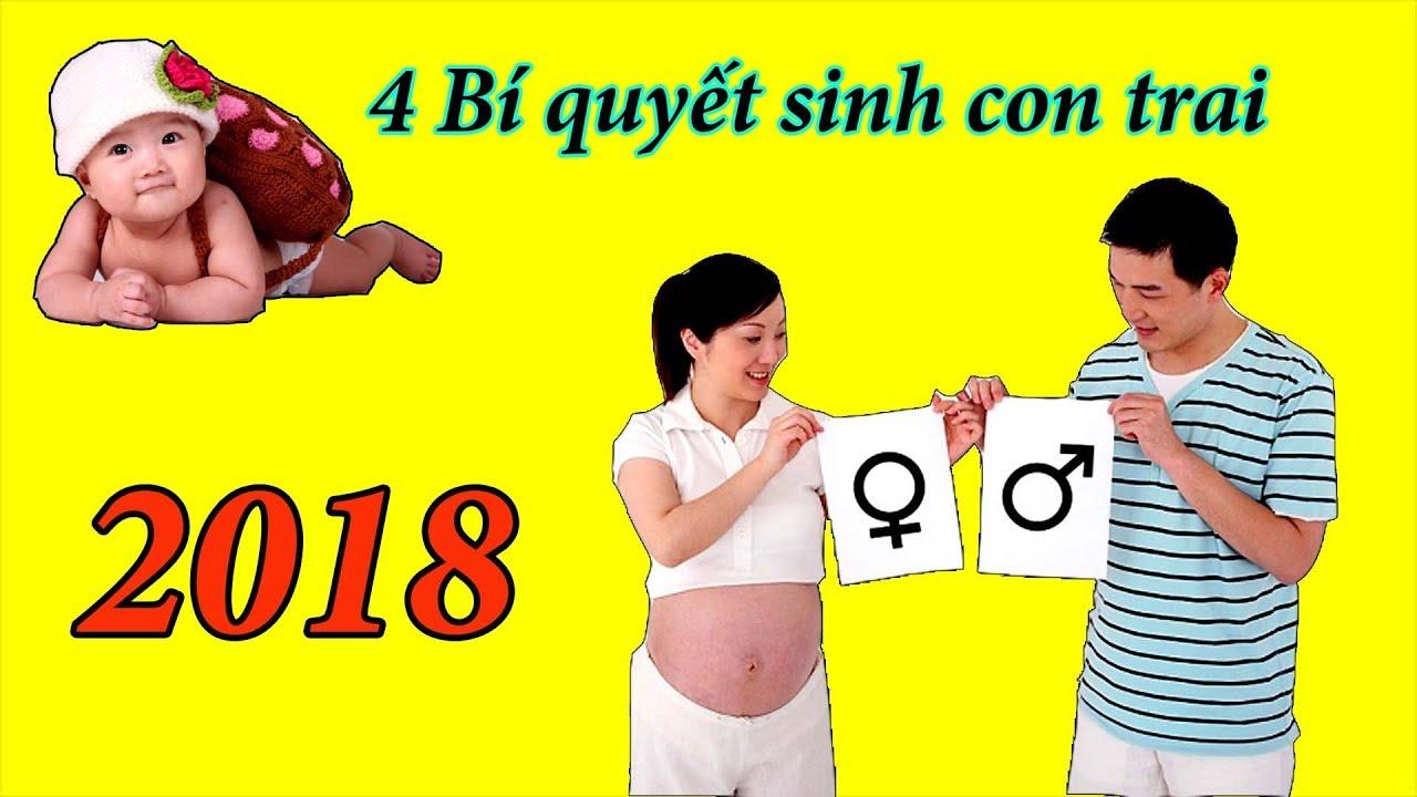 4 bí quyết sinh con trai 2018 | phụ nữ mang thai | mangthaibaby.com