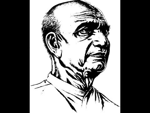 How To Draw Sardar Vallabhbhai Patel Face Drawing Step By Step - YouTube