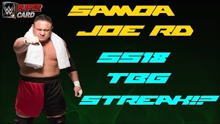 Samoa Joe RD Vorschau | SS18 TBG Pack Streak !? | WWE SuperCard Deutsch