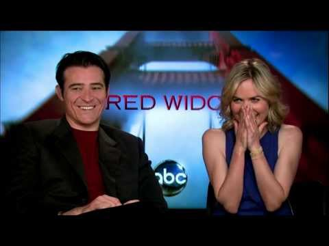 Interview with Goran Visnjic & Radha Mitchell from ABCs Hit Drama Red Widow #RedCarpetReport