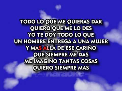 Cama y Mesa Roberto Carlos 🎤 Karaoke