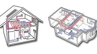 Монтаж вентиляции кондиционирования отопления ч.3(Видеоотчет по монтажу систем вентиляции кондиционирования отопления и канализации в коттедже в Киевской..., 2015-09-23T08:29:52.000Z)
