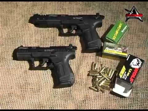 Малокалиберные пистолеты .22 LR: обзор моделей