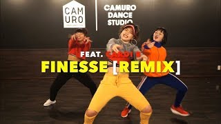 Finesse [Remix] feat  Cardi B - Bruno Mars Choreography by Yumeri Chikada at CAMURO dance studio