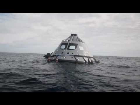NASA, Navy Train for 2018 Recovery of Orion Spacecraft