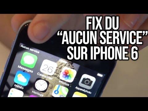"""Réparation : Fix du message """"Aucun service"""" sur iPhone 6"""