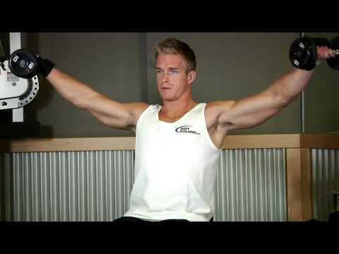 seated side lateral raise m en