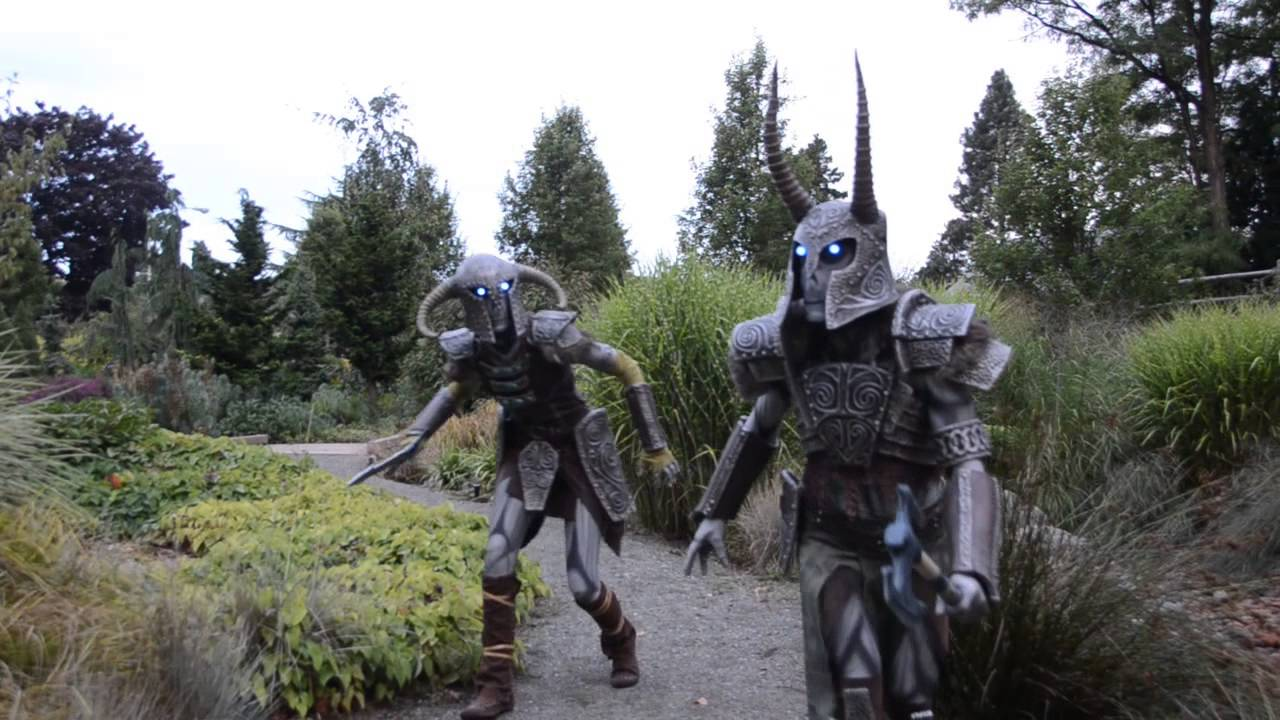 Skyrim Draugr Deathlords Cosplay - Dragon Con 2013 - Punished Props