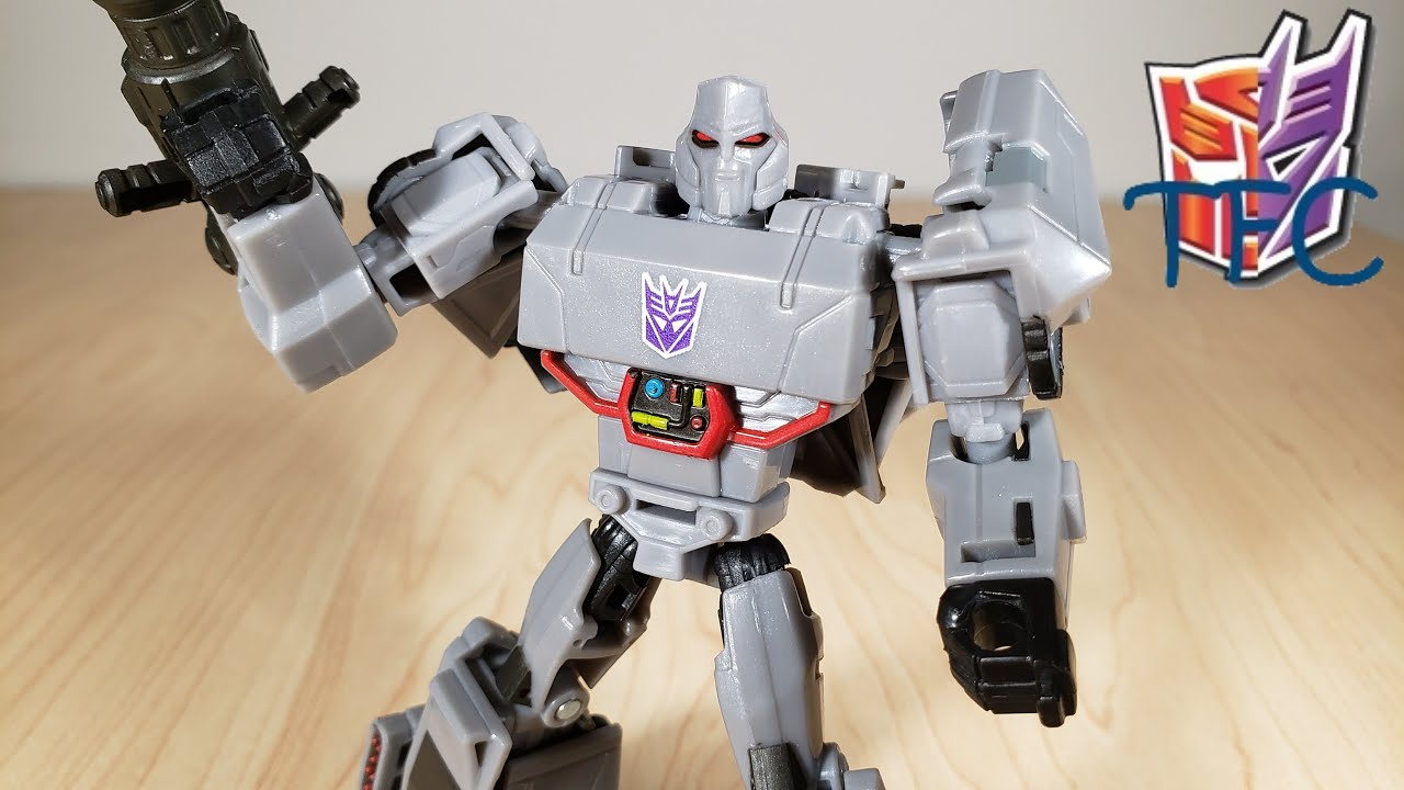 TF Collector Cyberverse Deluxe Megatron Review!