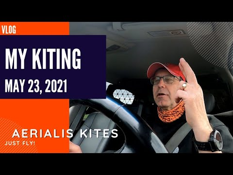My Kiting - May 23rd 2021 - With a Chance of Rain