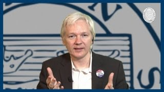Cyber Terrorism | Julian Assange | Oxford Union