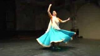 Indian Kathak dance